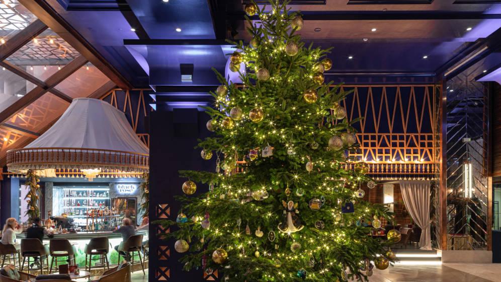 El árbol de Navidad más caro del mundo está en Málaga